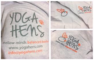 Yoga Hens Branded Uniforms