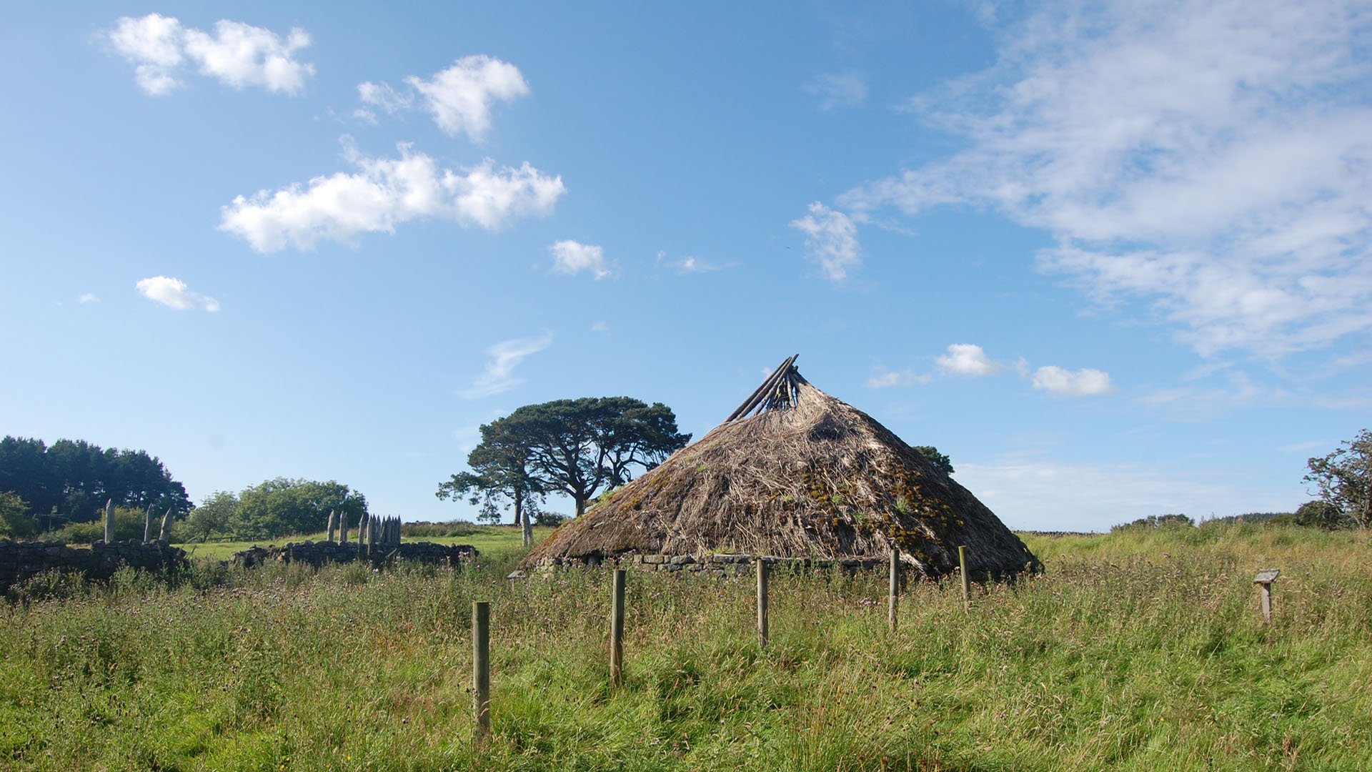 Celtic Dwelling Rochester Redesdale Tynedale Northumberland