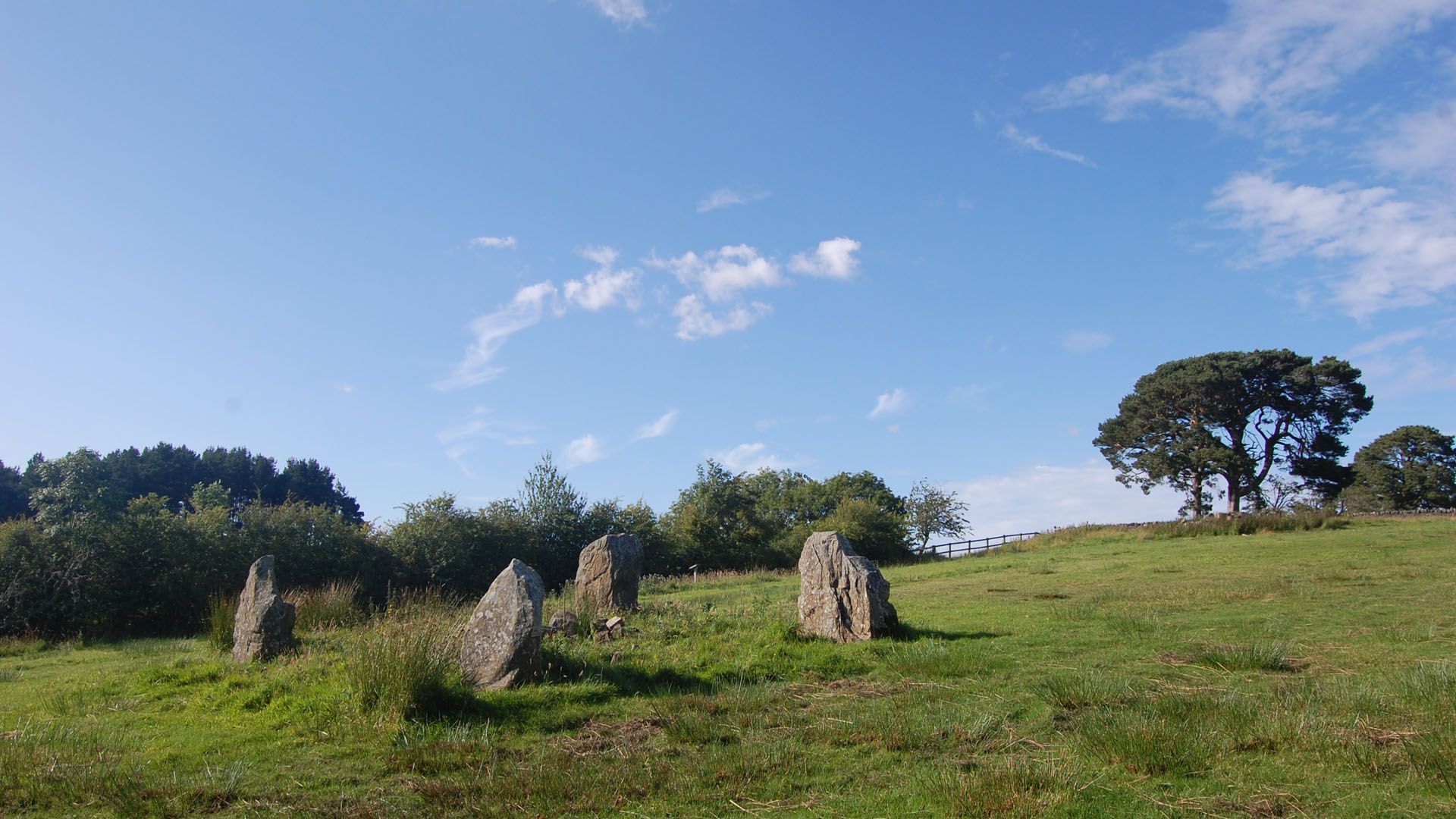 Stone Circle Rochester Redesdale Tynedale Northumberland