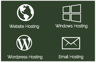 Hosting Services Icons